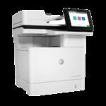 HP Laserjet MFP E62555dn a
